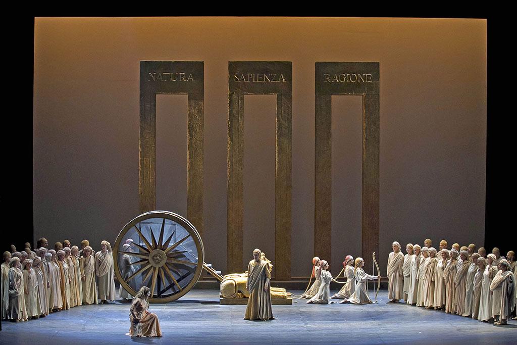 Maria Grazia Schiavo, Aleksandr Vinogradov e il Coro del Teatro Regio - Foto Ramella&Giannese