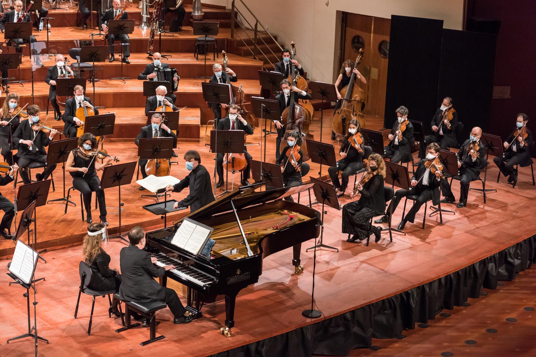 Credits: PiùLuce per Orchestra Rai