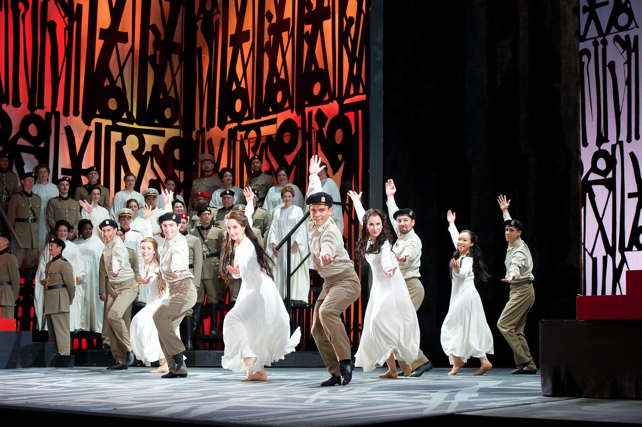 Dancers in Seattle Opera's Aida. Jacob Lucas photo