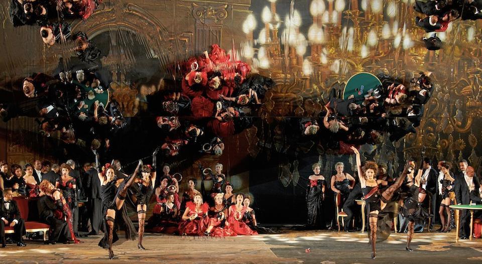Scena II atto - foto Trabocchini