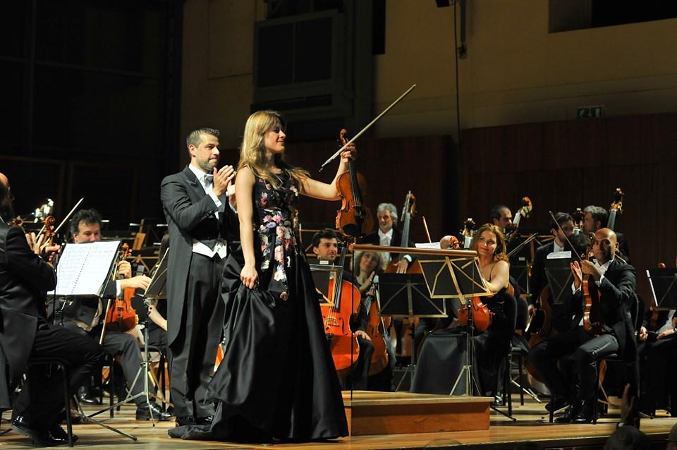 La foto si riferisce al medesimo concerto tenutosi a Parma - ph. Luca Trasicnelli