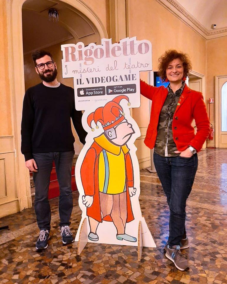 Francesca Pasquinucci, Davide Giannoni ...e Rigoletto - @ Imaginarium Creative Studio