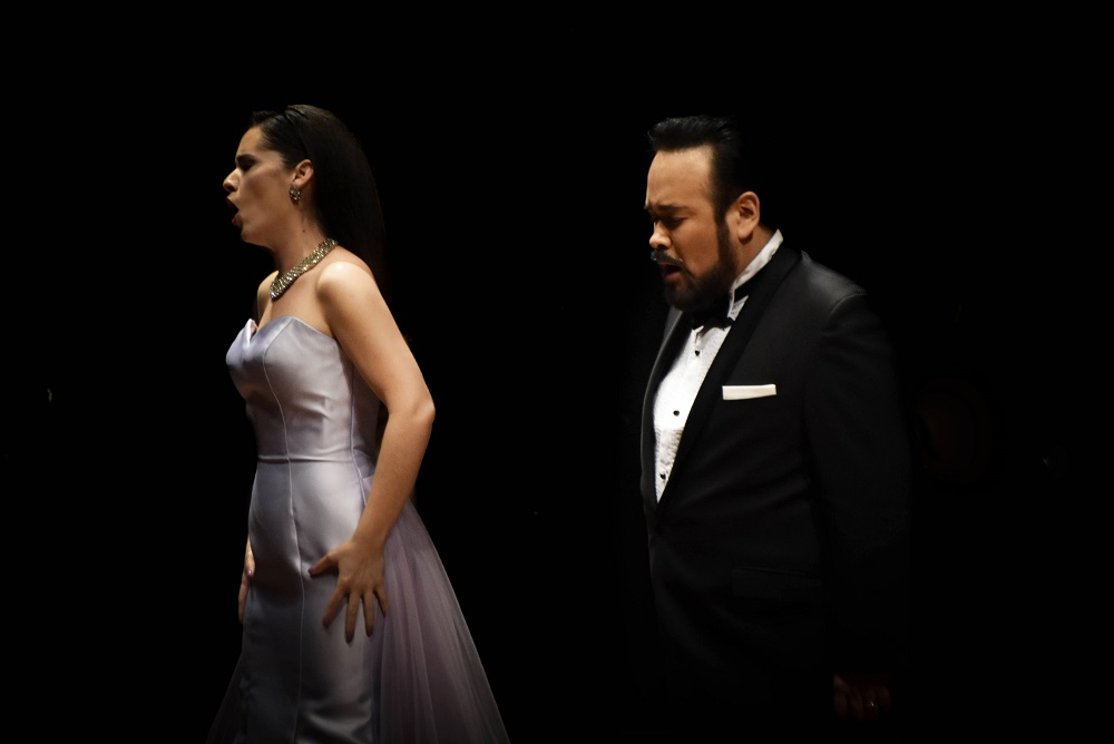 Anabel de la Mora and Javier Camarena in concert Copyright - Spinto Palacio de Bellas Artes