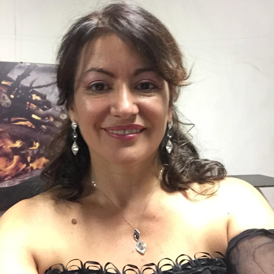 Laura Brioli prima della malattia