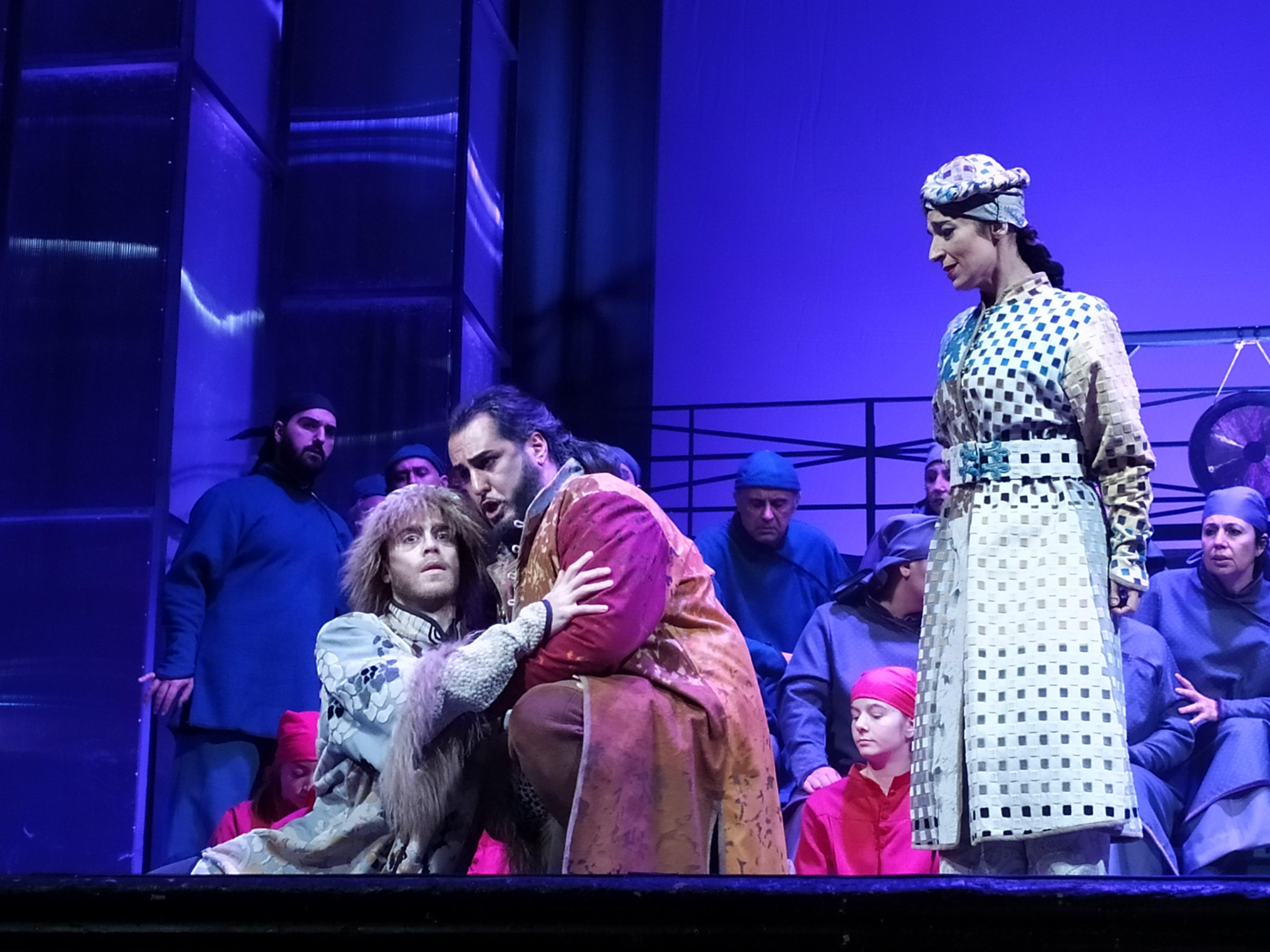 Foto Patrizia Monteverdi - Julis Loranzi, Alberto Profeta, Renata Campanella