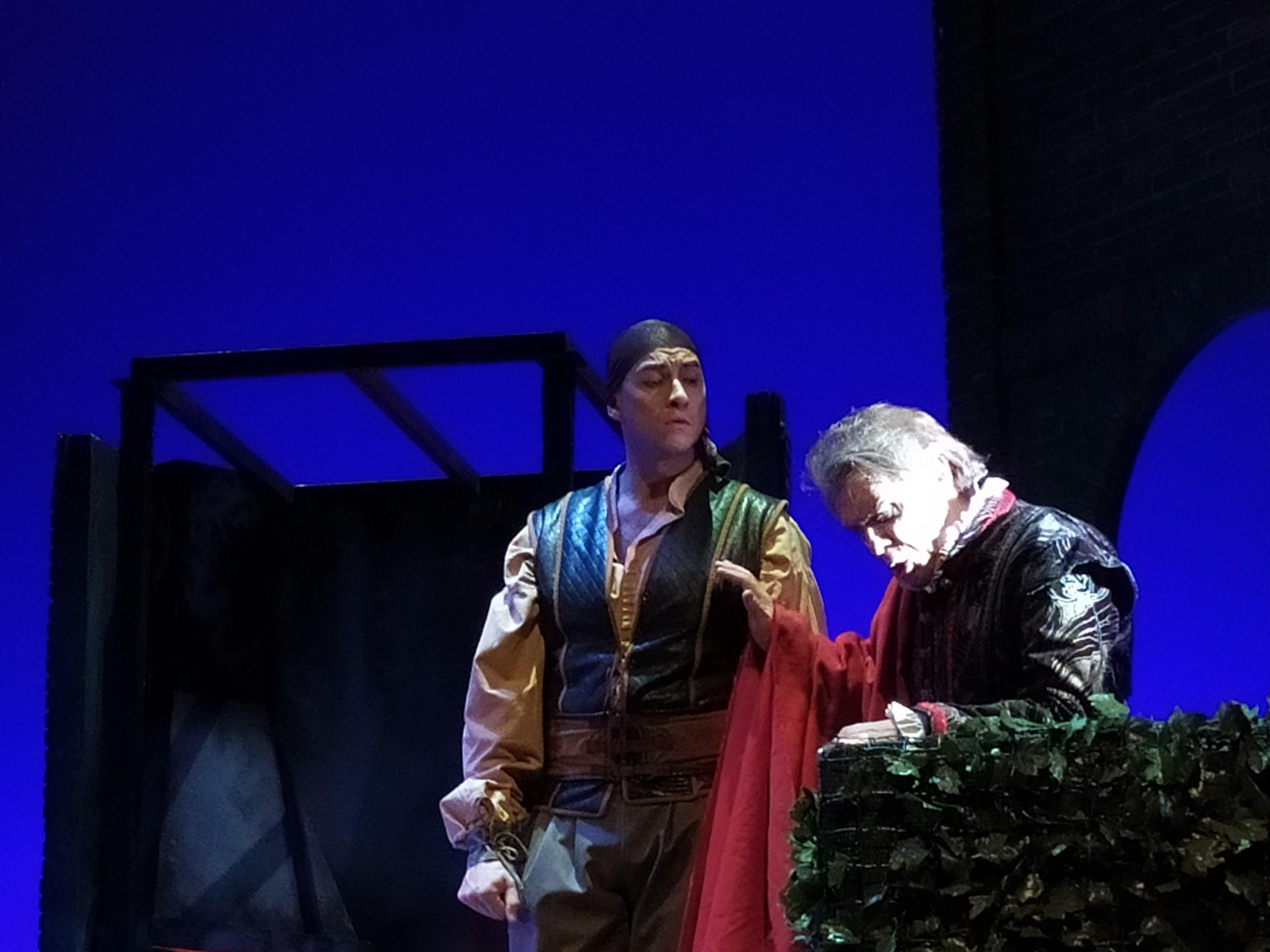 Foto Patrizia Monteverdi - Marzio Giossi Rigoletto, Massimiliano Catellani Sparafucileg