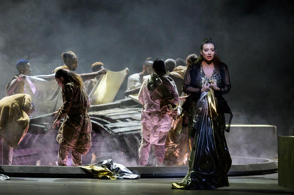 Julie Fuchs (Émilie/Fatime) - ph. Little Shao / Opéra national de Paris