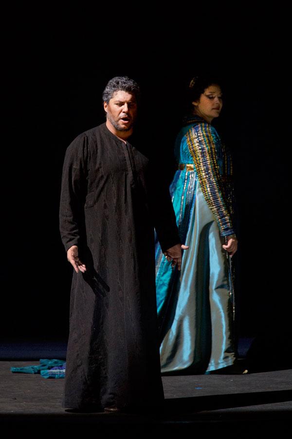 Luca Salsi e Tatiana Serjan - foto di Silvia Lelli - Opera di Roma