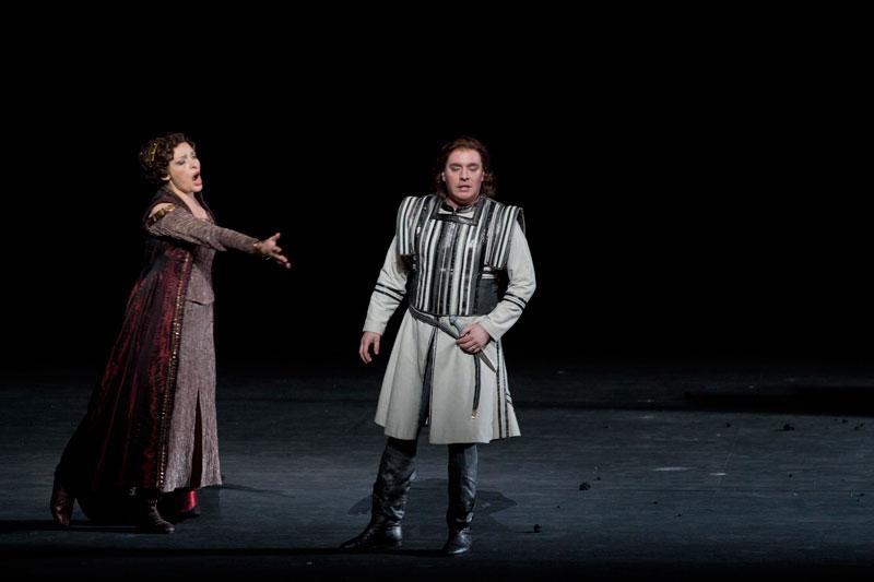 Tatiana Serjan e Francesco Meli - foto di Silvia Lelli - Opera di Roma