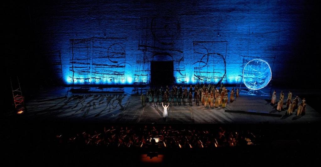 Macerata - Arena Sferisterio : Norma - Fonte Trabocchini