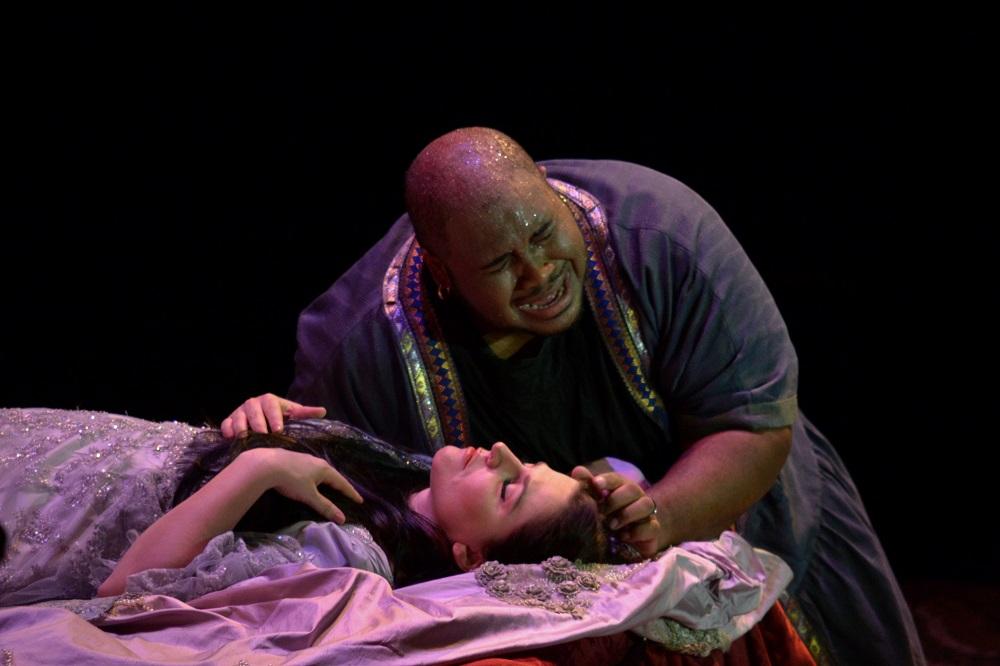 Maija Kovalevska (Desdemona) and Issachah Savage (Otello) Copyright - Marco Ayala OFJ