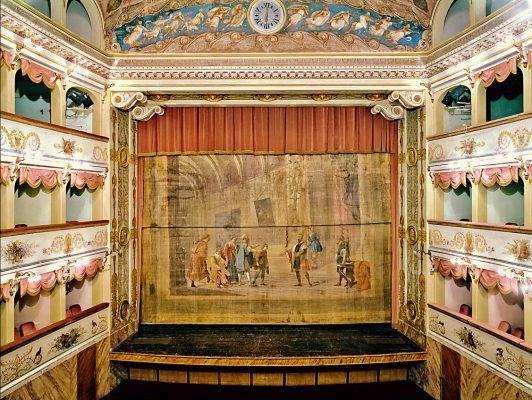 Il Teatro Goldoni a Bagnacavallo (Ra)