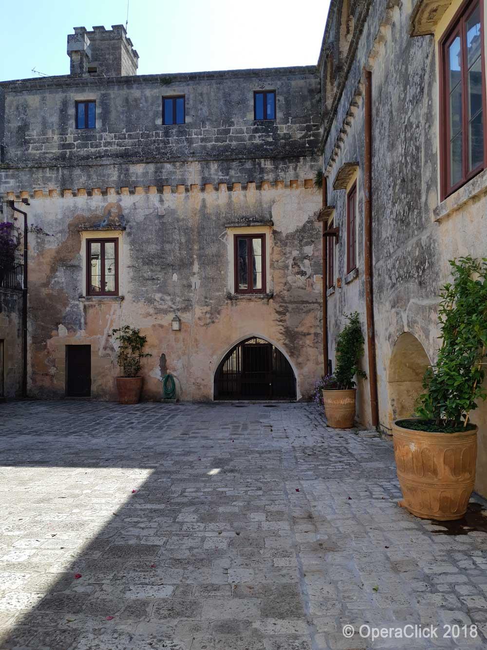 Cortile del Castello