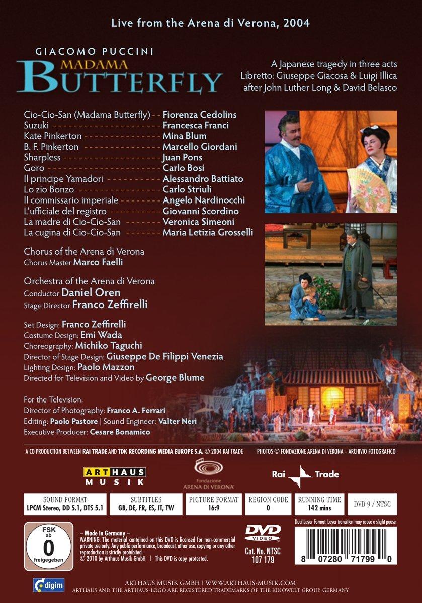 cover DVD Arthaus Musik
