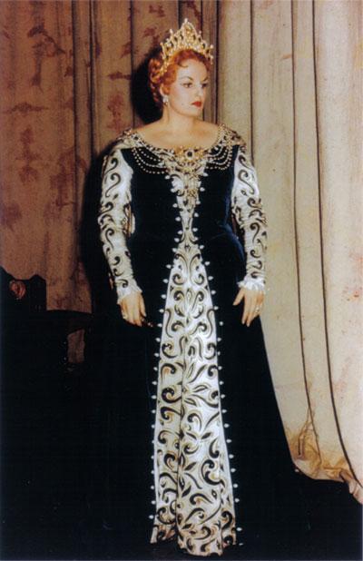 Anna de' Cavalieri - Gioconda -  Pisa, Teatro Verdi. 1960