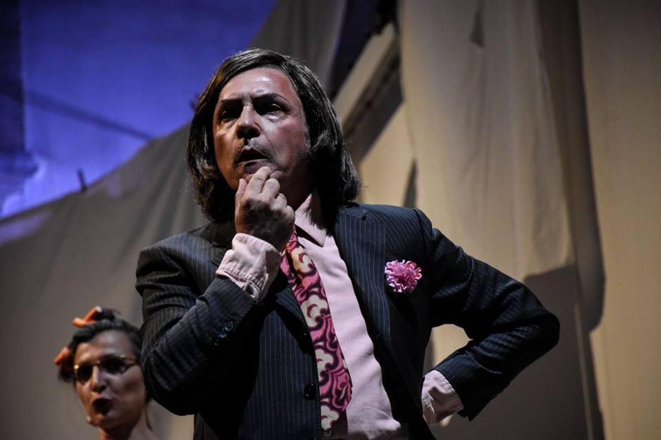 Domenico Colaianni nel ruolo di Gianni Schicchi