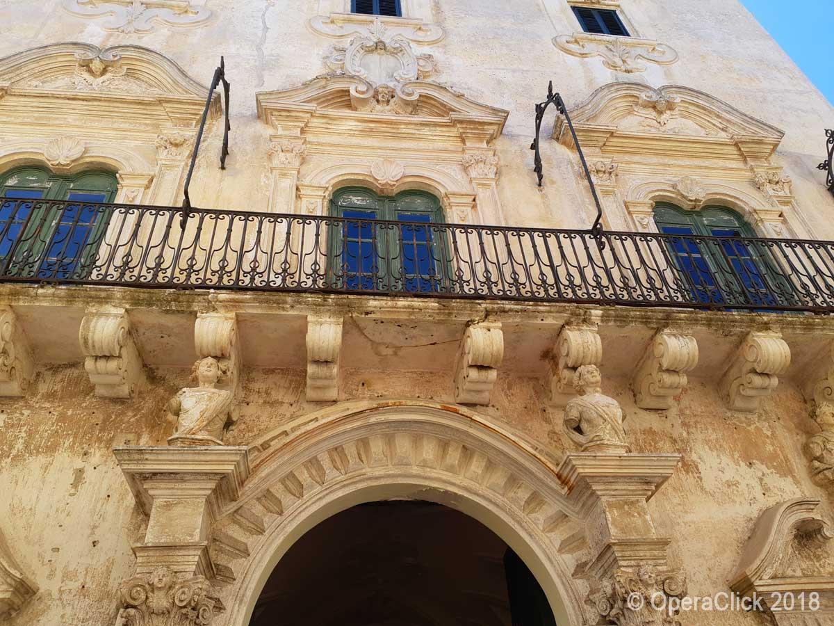 palazzo nobiliare nel centro storico di Gallipoli