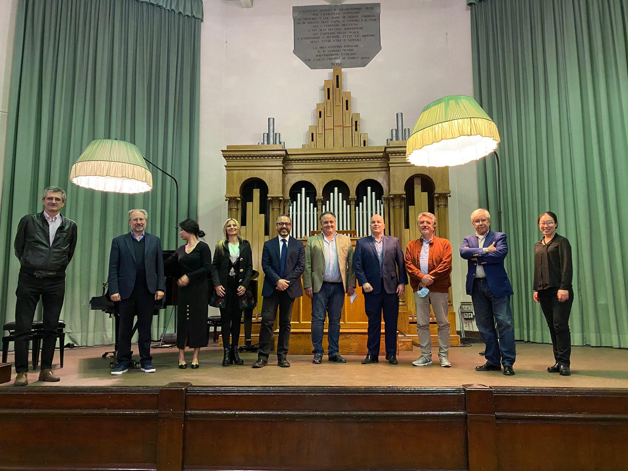 giuria del Concorso Orlandoni