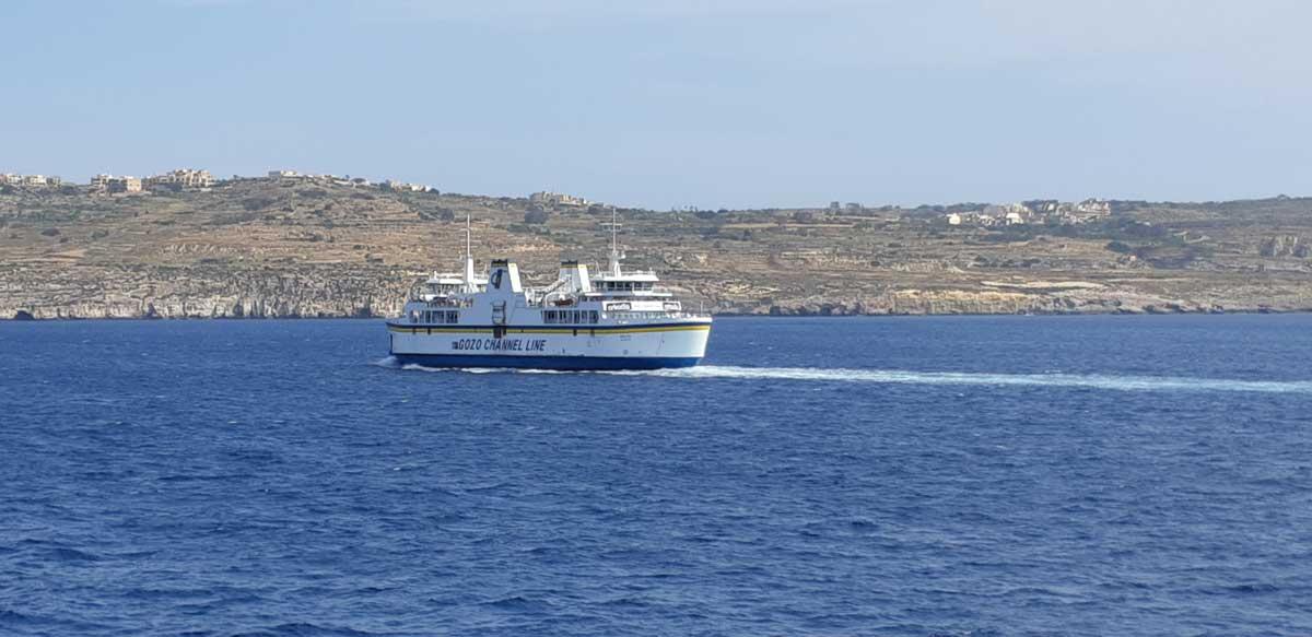 traghetto che porta da Malta a Gozo