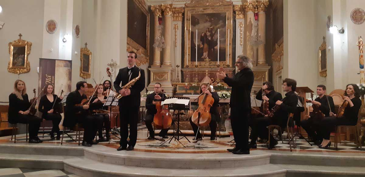 Philip Attard, Gaulitana String Orchestra e Colin Attard