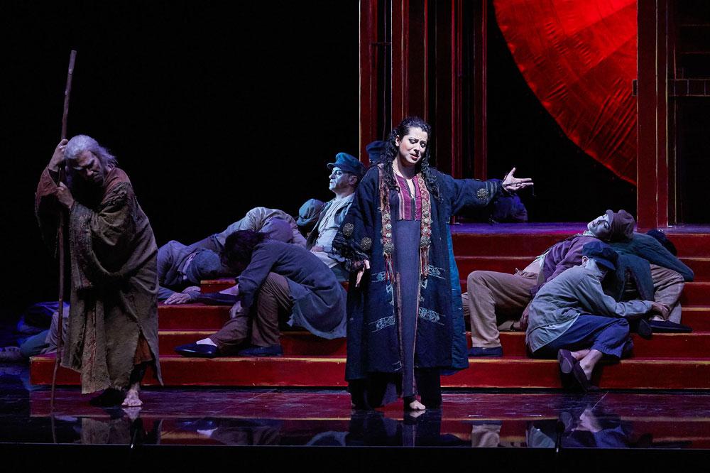 Liù nella Turandot al Festival di Peralada - © Toti Ferrer