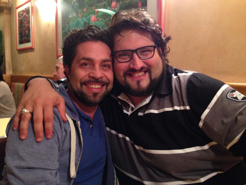 Paolo Bordogna e Nicola Alaimo
