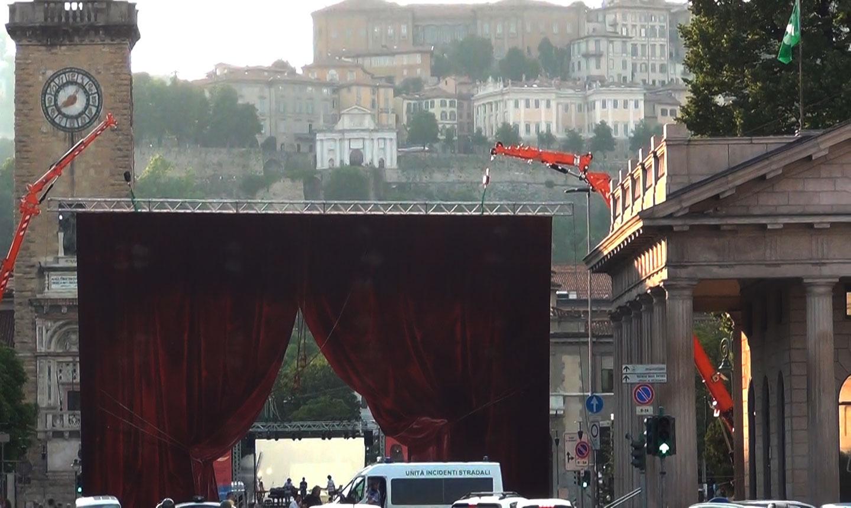 il sipario della Donizetti Night - credits OperaClick (Danilo Boaretto