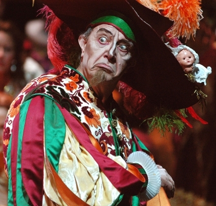 Leo Nucci nel ruolo di Rigoletto