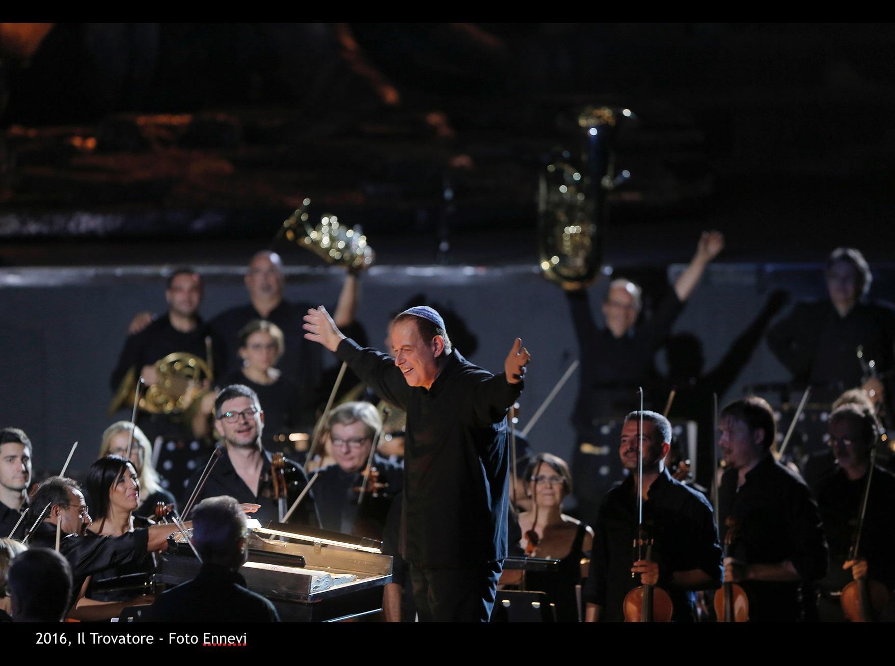 Daniel Oren - foto ENNEVi - Arena di Verona