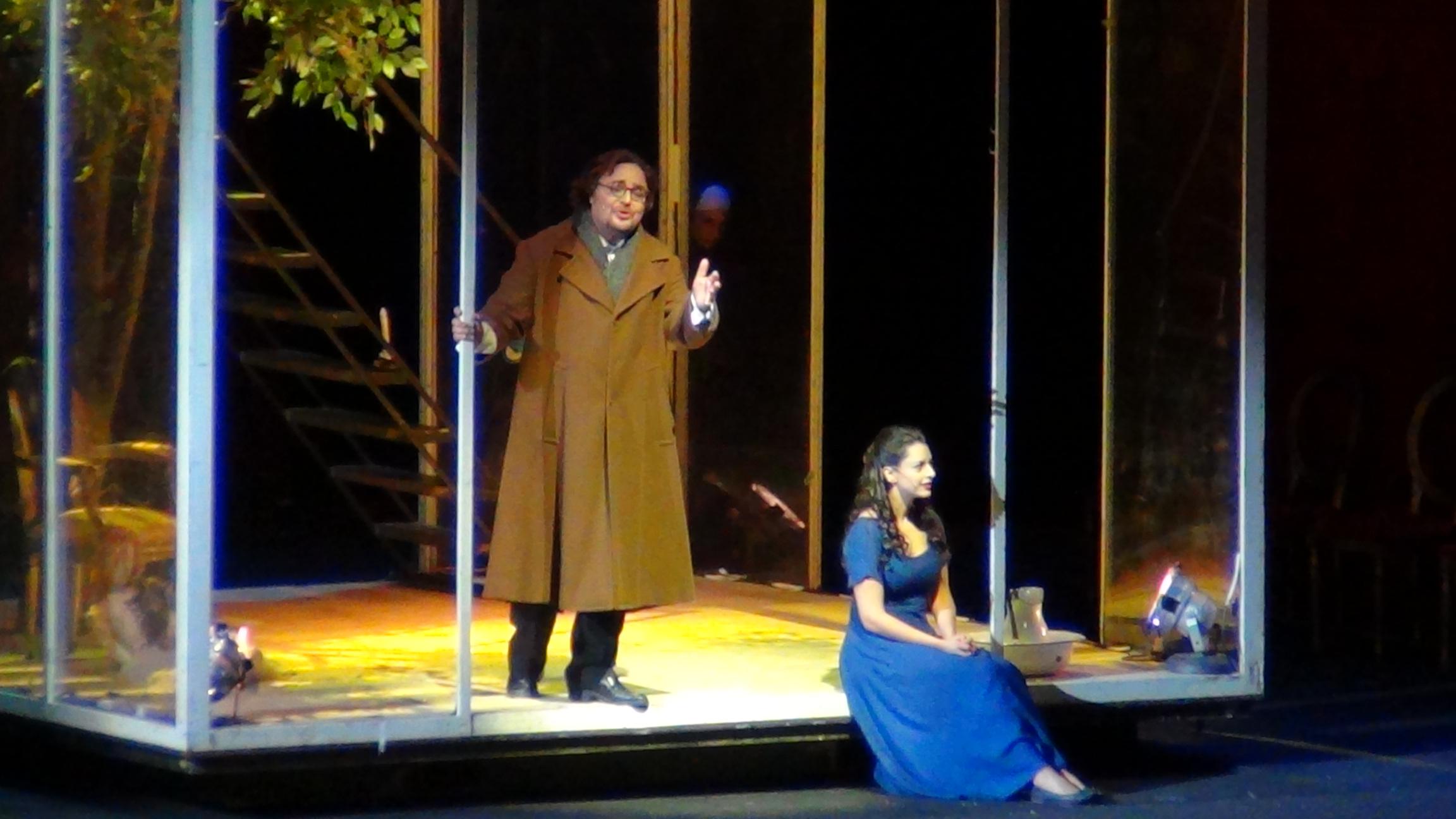 Salvatore Cordella e Hila Fahima