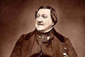 Gioachino Rossini, foto storica