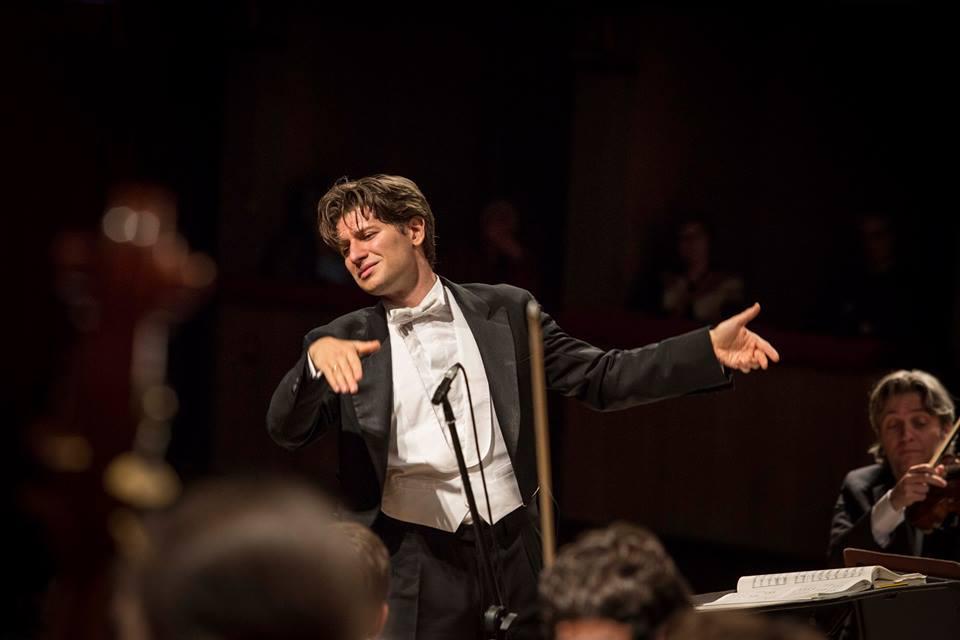 Daniele Rustioni - ph. di Orchestra della Toscana