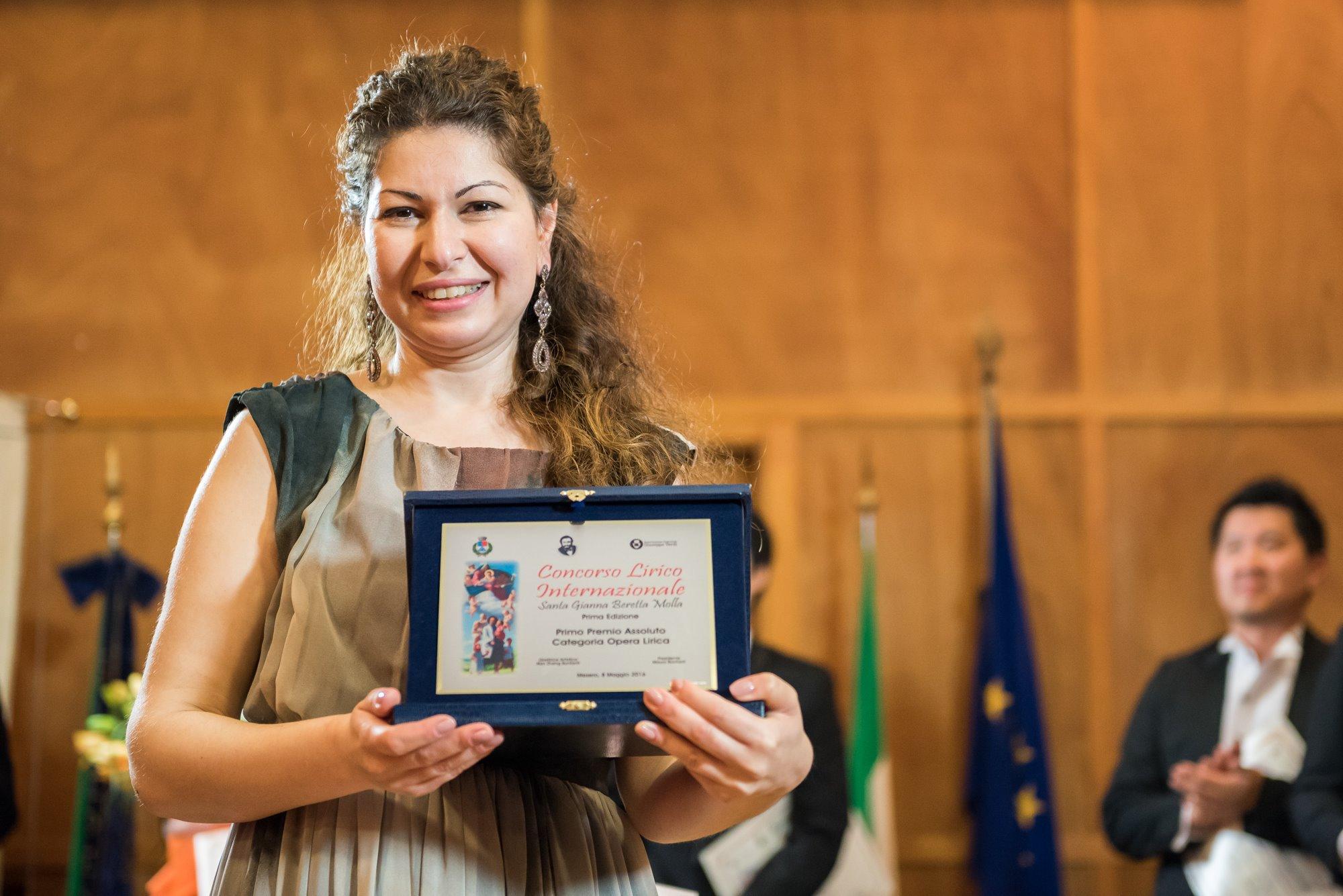 Elizaveta Martirosyan, vincitrice del Primo Premio