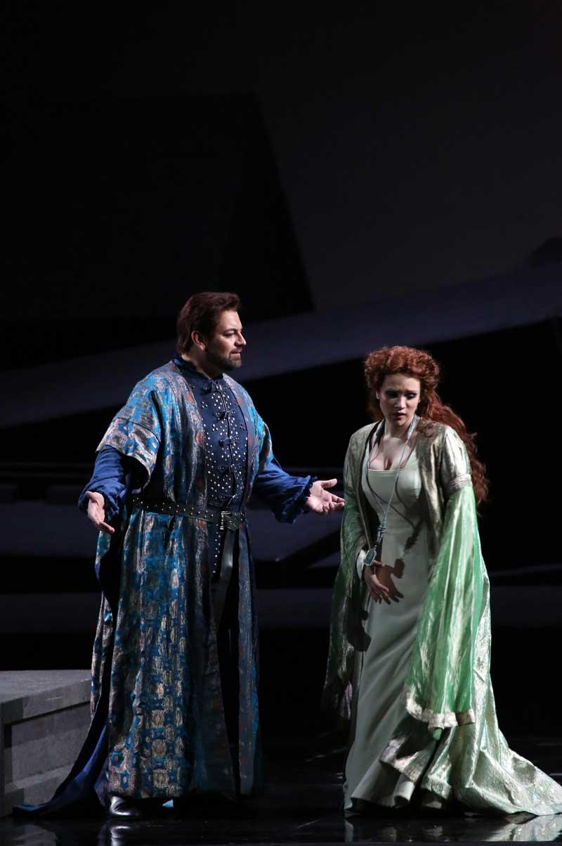 Giorgio Berrugi e Carmen Giannattasio - credit Marco Brescia / Teatro alla Scala