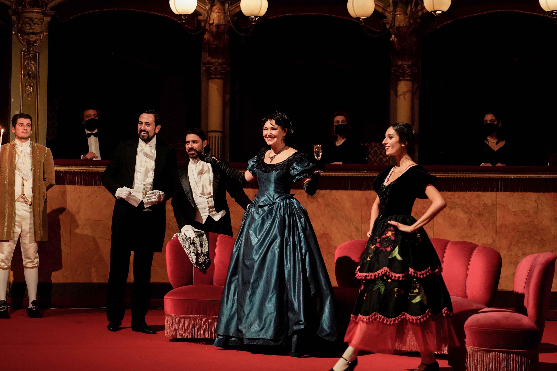 Gabriele Sagona, Claudio Levantino, Anastasia Boldyreva - Atto II, Scena II - ® Giacomo Orlando