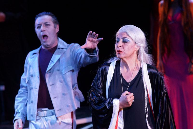 Giovanna Lanza - Ulrica al Teatro Donizetti di Bergamo