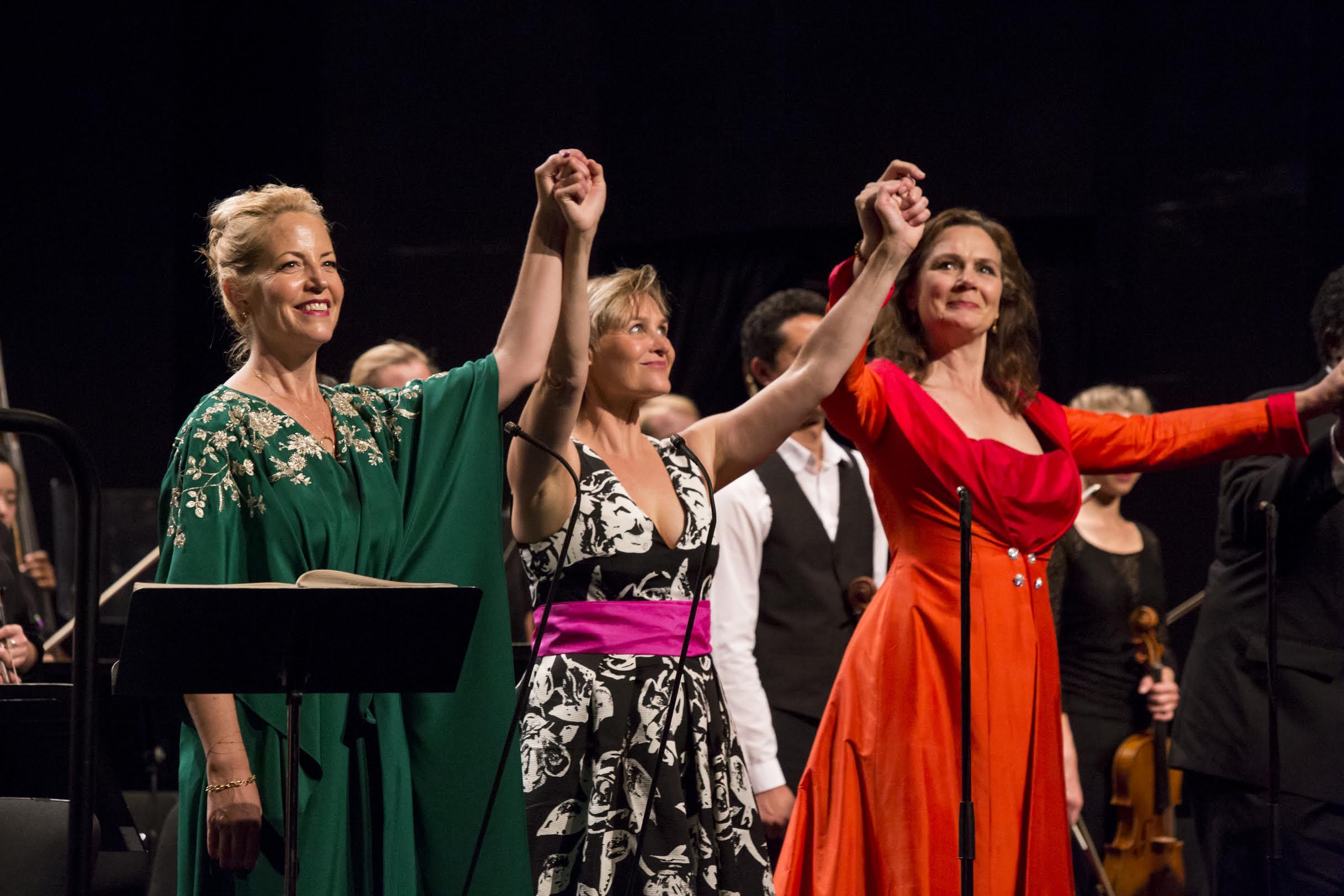 Lise Lindstrom, Ingela Brimberg, Anna Larsson